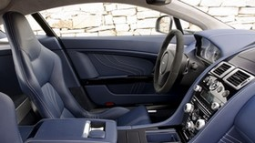 aston martin, v8, vantage, 2011, salon, interior, steering wheel - wallpapers, picture
