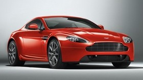 aston martin, v8, vantage, 2012, red, front view, style, aston martin, auto - wallpapers, picture