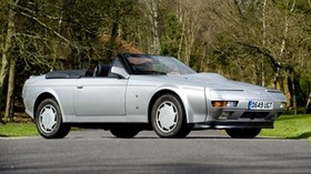 aston martin, v8, volante, zagato, 1988, silver, side view, retro, aston martin, auto - wallpapers, picture