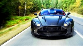aston martin, vanquish, 2015, front view, motion - wallpapers, picture