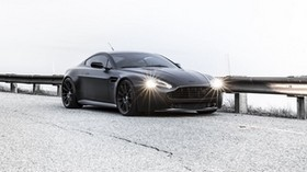 aston martin, vantage, black, aston martin, black, chipper - wallpapers, picture
