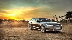 audi, a6, allroad, side view, hdr - wallpapers, picture