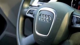audi, car, steering wheel, control - wallpapers, picture