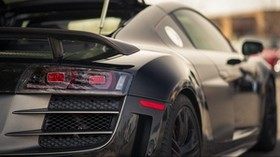 audi, r8, gt, rear bumper, headlights - wallpapers, picture