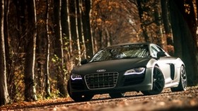 audi, r8, v10, sports car - wallpapers, picture