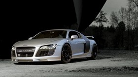 audi, r8, side view, silver - wallpapers, picture