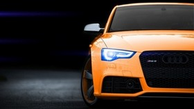 audi rs5, audi, bumper, lights, light - wallpapers, picture