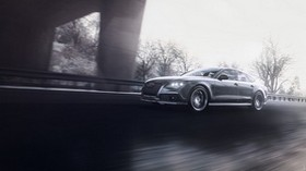 audi rs7, audi, car, gray, road, speed - wallpapers, picture