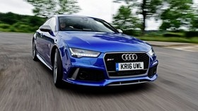audi, sportback, rs7, front view - wallpapers, picture