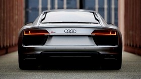 audi, sports car, rear view - wallpapers, picture