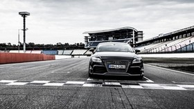 audi, tt, rs, front view - wallpapers, picture