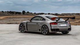 audi, tt, gray, side view - wallpapers, picture