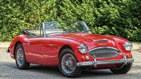 austin healey, 3000, bj8, roadster, 1966, convertible, red - wallpapers, picture