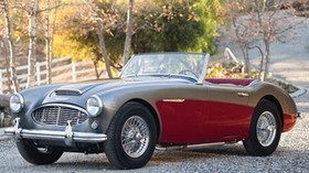 austin healey, 3000, convertible, 1959, retro - wallpapers, picture