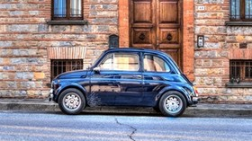 auto, mini, retro, side view, hdr - wallpapers, picture