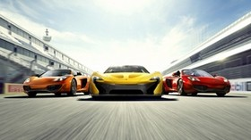 auto, three, style, sport - wallpapers, picture