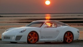 auto, tuning, sunset - wallpapers, picture
