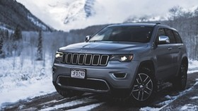auto, SUV, snow, side view - wallpapers, picture