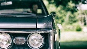 car, headlight, front view - wallpapers, picture