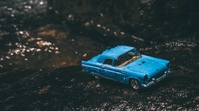 car, model, toy, retro, moisture - wallpapers, picture