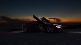car, car, sports car, night, sunset - wallpapers, picture