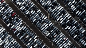 cars, parking, dividing lines - wallpapers, picture