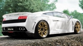 white, lamborghini, style, wheels - wallpapers, picture