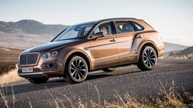 bentley bentayga, all-terrain vehicle, side view - wallpapers, picture