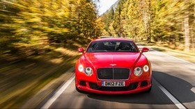 bentley, continental, gt, motion, speed - wallpapers, picture