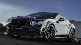 bentley, continental, gt, onyx, tuning, black, front - wallpapers, picture