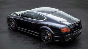 bentley, continental, gt, onyx, tuning, black - wallpapers, picture