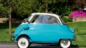 bmw, 1957 bmw, side view, isetta 300 - wallpapers, picture