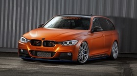 bmw, 3-series, f31, touring, side view - wallpapers, picture