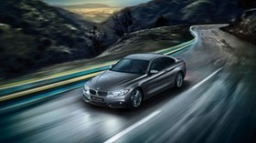 bmw, 4 series, f32, movement, road - wallpapers, picture