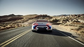 bmw, csl, hommage r, rear view, speed - wallpapers, picture