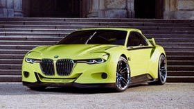 bmw, csl, hommage, side view - wallpapers, picture