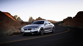 bmw, road, traffic - wallpapers, picture