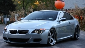 bmw e63, bmw, car, gray, bmw - wallpapers, picture