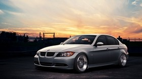 bmw e90, gray, auto, style - wallpapers, picture