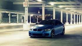 bmw, e92, m3 series, matte, metallic blue - wallpapers, picture
