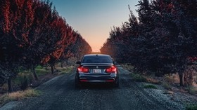 bmw, f80, 335i, rear view - wallpapers, picture