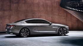 bmw, gran lusso, coupe, 2013, silver, side view - wallpapers, picture