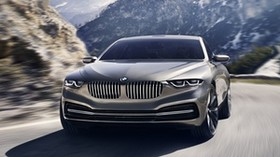 bmw, gran lusso, coupe, concept - wallpapers, picture