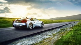 bmw, i8, exotic, motion, motion, speed - wallpapers, picture