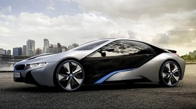 bmw, i8, concept, auto, dark - wallpapers, picture