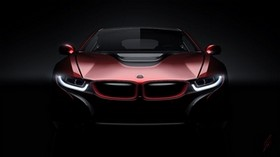 bmw, i8, concept, front view - wallpapers, picture