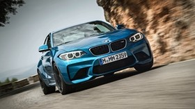 bmw, m2, front view - wallpapers, picture