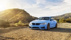 bmw m4, bmw side view - wallpapers, picture