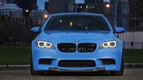 bmw, m5, f10, yas marina blue - wallpapers, picture