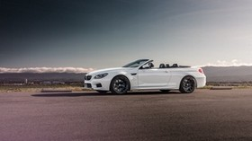 bmw, m6, convertible, side view - wallpapers, picture